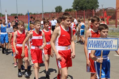 В Калининском районе состоялся открытый турнир по боксу