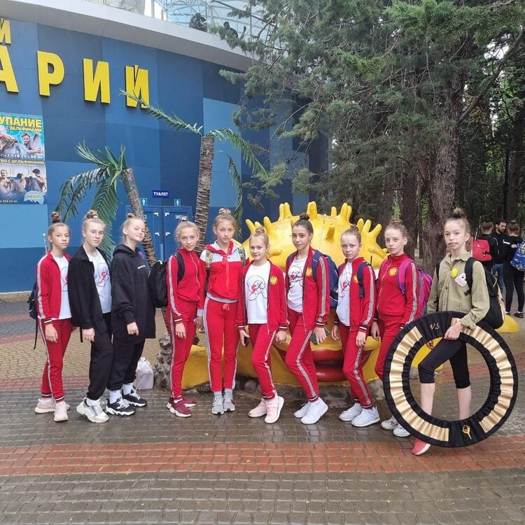 Гимнастки из Гулькевичского района выиграли краевой турнир в Белореченске