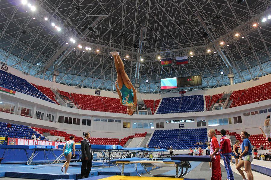 Свыше 400 батутистов выступят на чемпионате и первенстве Краснодарского края